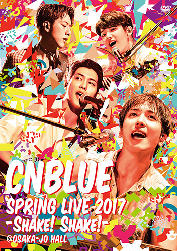 20170826_CNBLUE_Shake_Live_Normal_DVD